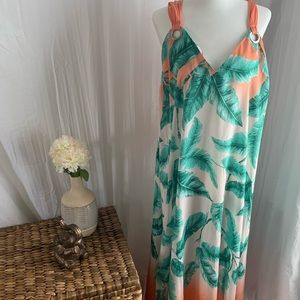 Forever 21 lightweight tropical dress